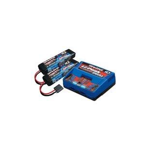 Traxxas ‑ 2S 7600Mah Completer Pack: (2) 7.4V 7600Mah Lipo...
