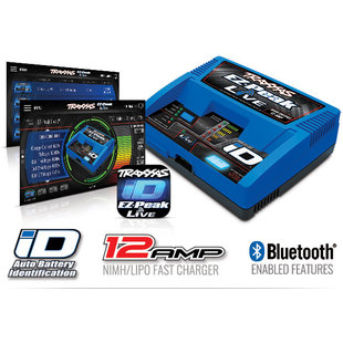 EZ-Peak Live 12-amp NiMH LiPo Fast Charger with Bluetooth (TRA2971)