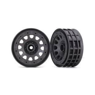 Wheels, Method 105 2.2' (charcoal gray, beadlock) (beadlock rings sold separately)