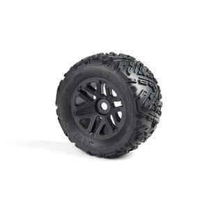 Exabyte NT Truggy Tire Set Pre-glued