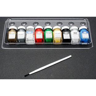 All-Purpose Gloss Enamel 8 Color Paint Set