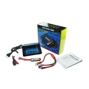 ACDC-10A 1S-6S 80W 10A Multi-Chemistry Balancing Charger (LiPo/LiFe/LiVH/NiMH) #ACDC-10A