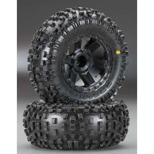 1173-12 Badlands 2.8 Inch AT Tires Desperado Wheels - Traxxas