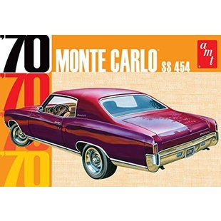 AMT AMT928 1:25 Scale 1970 Chevy Monte Carlo Plastic Model