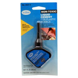 Testor Corp. 3527C Non-Toxic Cement w/Applicator, 1oz