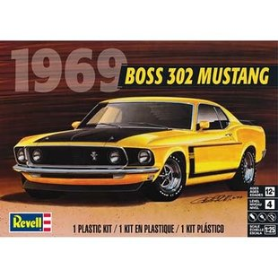 1/25 '69 Boss 302 Mustang