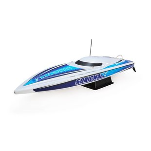 """36"""" Sonicwake,Wht,Self-Right Deep-V Brushless RTR"""
