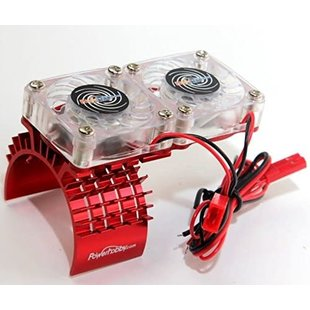 Aluminum Cooling Fan Slash 4WD Red