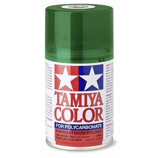 Tamiya 86044 PS-44 Polycarbonate Spray Translucent Green 3 oz