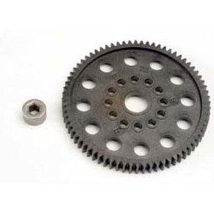 32P Spur Gear,72T:NR,NSP,TMX.15,2.5