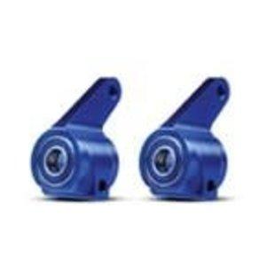 Traxxas 3636A Blue-Anodized 6061-T6 Aluminum Steering Blocks (pair)