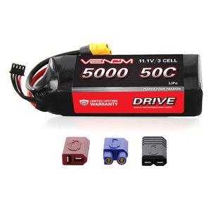 DRIVE 50C 3S 5000mAh 11.1V LiPo : UNI 2.0 Plug
