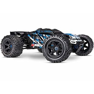 86086-4 - E-Revo® VXL Brushless: 1/10 Scale 4WD Brushless Electric Monster Truck with TQi 2.4GHz Traxxas Link™ Enabled Radio System, Velineon® VXL-6s brushless ESC (fwd/rev), and Traxxas Stability Management (TSM)®