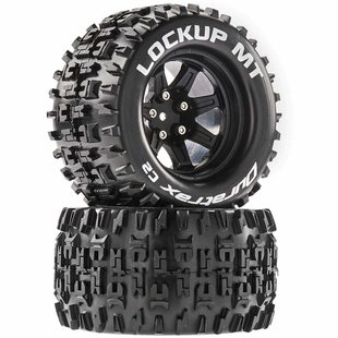Lockup MT 2.8 Mounted Black 14mm Hex (2)