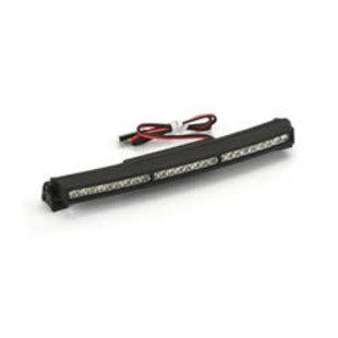 """5"""" LED Light Bar 6V-12V Curved: SC & 1/8"""