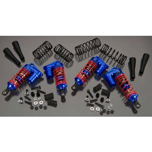 XLS Piggyback Shock (4), Blue: Slash 4X4