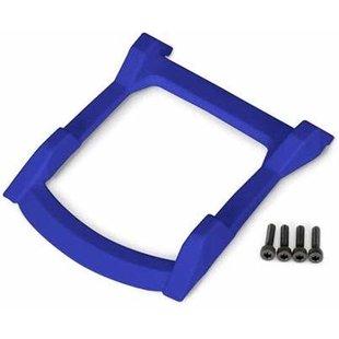 6728X - Skid plate, roof (body) (blue)/ 3x12mm CS (4)