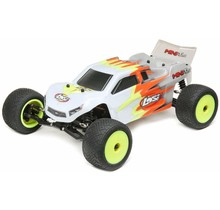 1/18 Mini-T 2.0 2WD Stadium Truck RTR, Gray/White