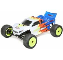 1/18 Mini-T 2.0 2WD Stadium Truck RTR, Blue/White