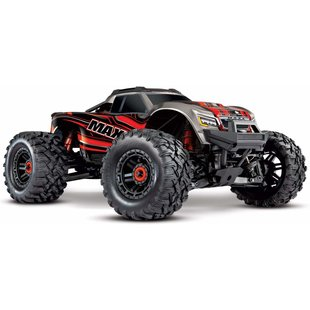 89076-4 - Maxx®: 1/10 Scale 4WD Brushless Electric red