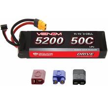 DRIVE 50C 3S 5200mAh 11.1V LiPo : UNI 2.0 Plug