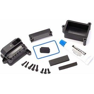 Traxxas 8924 - Receiver Box, Wire Cover, Foam Pads & Silicone Grease, Maxx