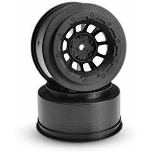 Front Hazard Wheel, Black (2) :2WD Slash