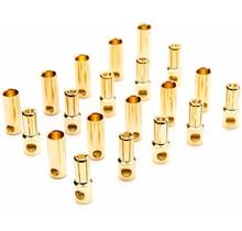 Gold Bullet Connector Set, 5.5mm (10)