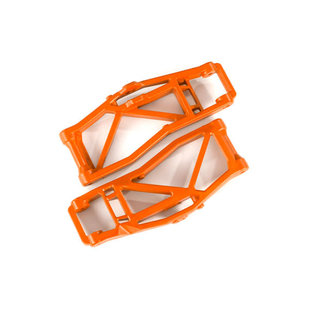 8999T - Suspension arms, lower, orange (left and right, front or rear) (2) (for use with #8995 WideMaxx™ suspension kit)
