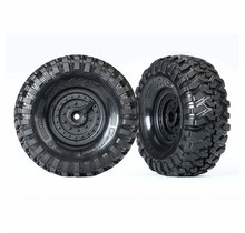 Tires and wheels, assembled, glued (Tactical wheels, Canyon Trail 1.9 tires) (2)
