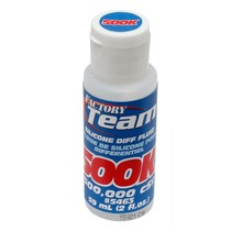 FT Silicone Diff Fluid, 500,000 CST/Team Associated / 5463