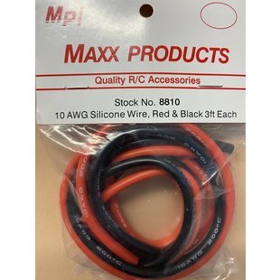 MPI 10 AWG Silicon Wire 3ft.