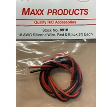 MPI 18 AWG WIRE(BLK/RED)