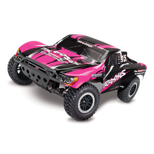 58034-1 - Slash: 1/10-Scale 2WD Short Course Racing Truck. Ready-To-Race® with TQ 2.4GHz radio system and XL-5 ESC (fwd/rev). Includes: 7-Cell NiMH 3000mAh Traxxas® battery