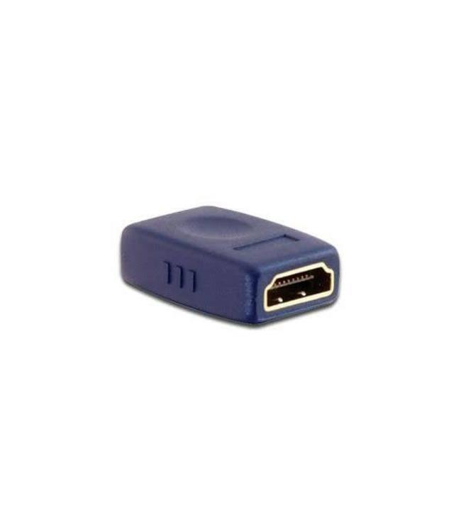 Adaptateur HDMI Femelle à Femelle, plaqué Or