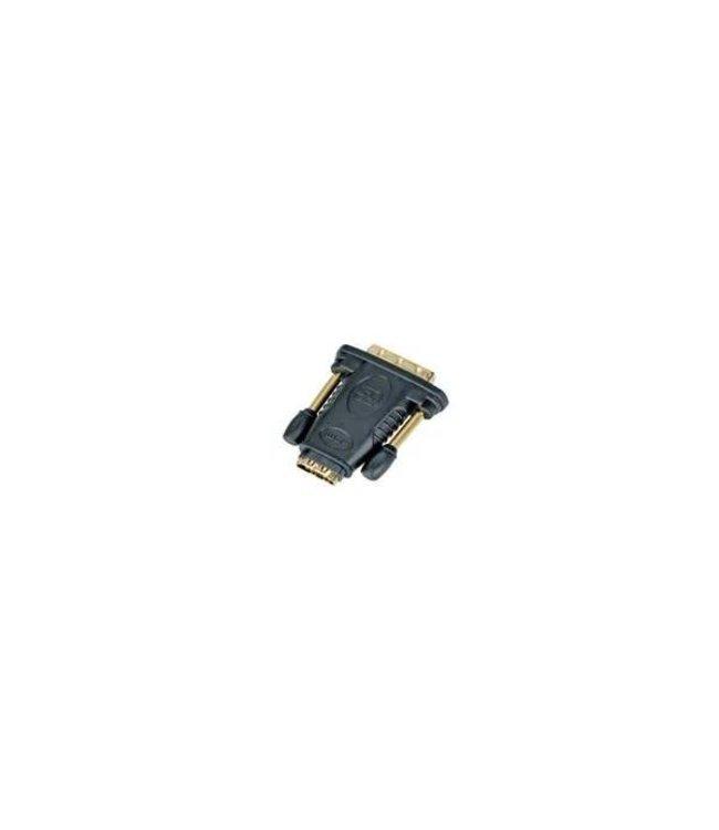 Adaptateur HDMI Femelle à DVI Mâle, Plaqué Or