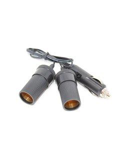 Adaptateur d'allume cigarette diviseur 1 à 2, 5a