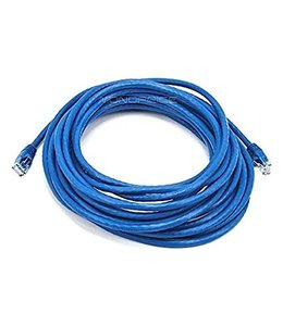 Câble réseau Ethernet Cat6, T568B, Bleu, 75 pi.