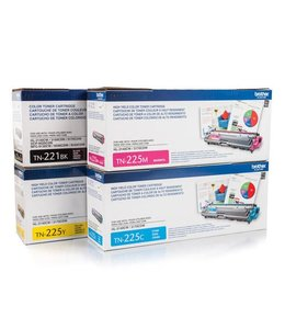 Toner Brother TN-225 Cyan Compatible