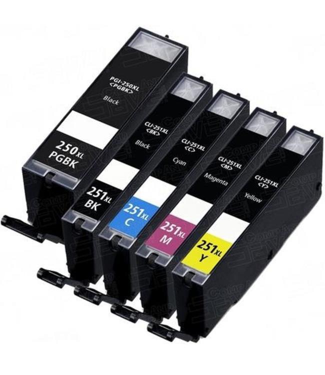CLI-251XL Jaune Encre Compatible