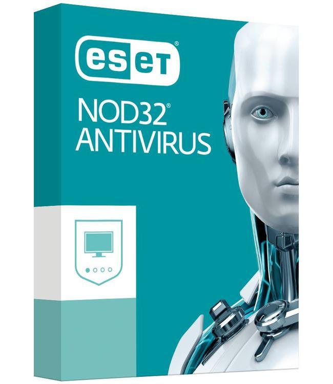 Anti Virus NOD32 1 PC pour 1ans (OEM)