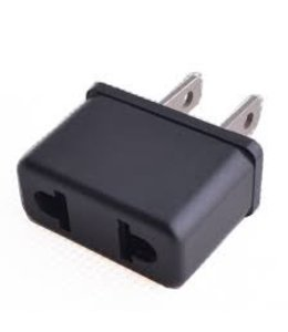 European to American plug adapter
