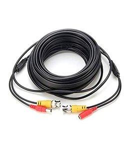 Câble BNC et alimentation DC pour caméra de sécurité, 2.1mm 10m