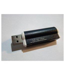 Lecteur de carte USB 2.0 (SD-MiniSD-MicroSD-MS)