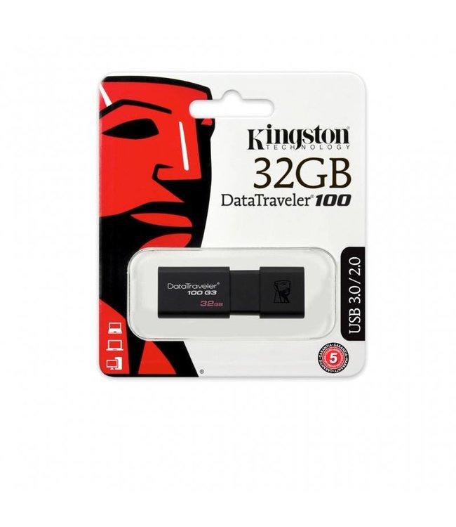 USB Key 32Go Kingston DataTraveler 100 G3 USB 3.0