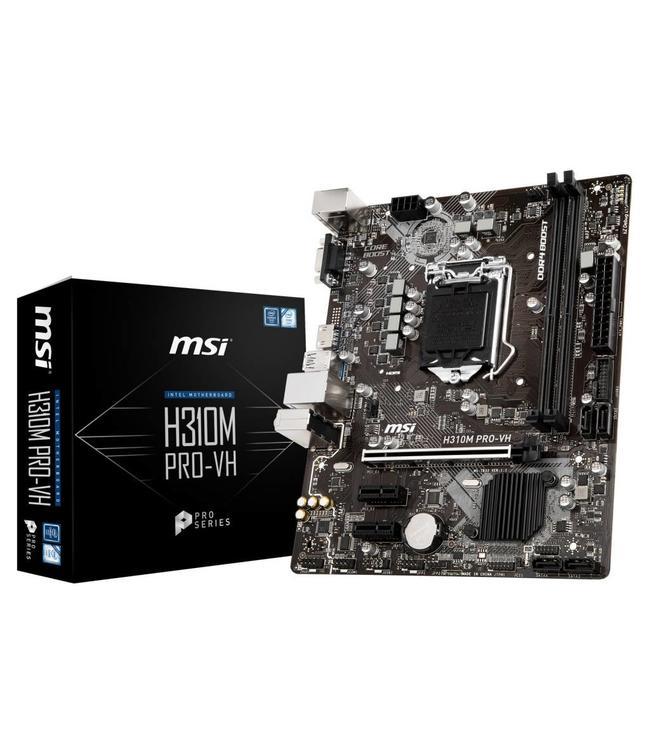 Carte mère MSI H310M-Pro 8Th mATX