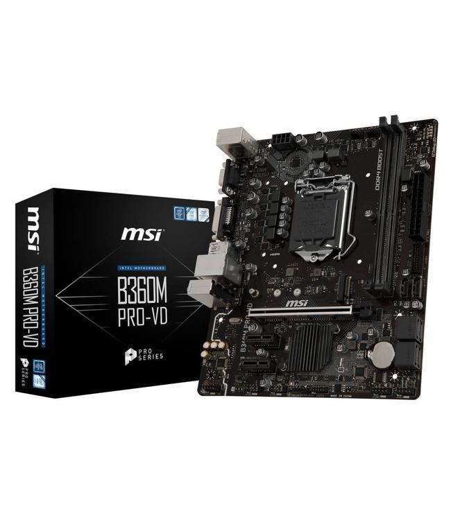 Carte mère MSI B360M-Pro 8Th mATX