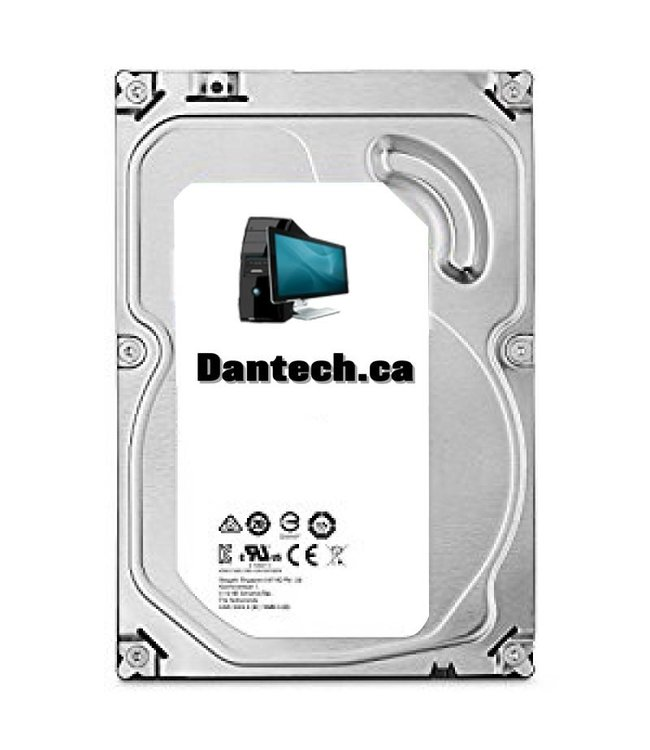 Used 3.5'' SATA hard drive 500 Gb