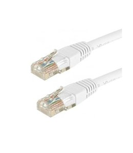 GlobalTone Câble réseau Ethernet Cat6, T568B, Blanc, 7 pi/ft