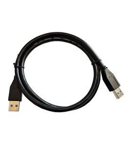 GlobalTone Câble USB 3.0 A Mâle à A Mâle, 28awg, Noir, 3 pi.